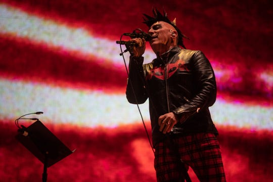 Tool performs at Gila River Arena in Glendale on Oct. 23,2019.