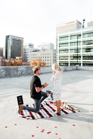 U.S. gymnast MyKayla Skinner of Gilbert, a contender for the 2020 Olympics, recently became engaged to Jonas Harmer. They will be married Nov. 14.