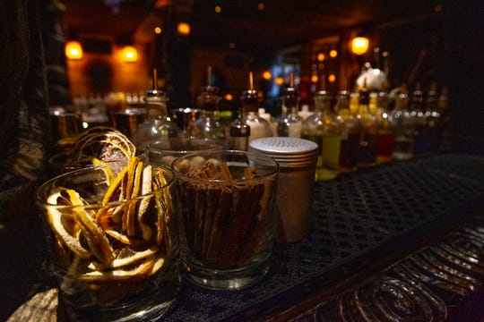 """""""A lot of tiki is spices, juices and rums,"""" says UnderTow beverage director Mitch Lyons.""""So we have to find which rums blend the best together."""""""