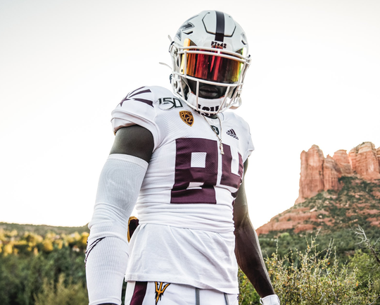 The Sun Devils will wear their new sustainable uniforms against UCLA.