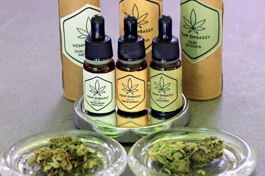 Actualmente se venden varios aceites y productos elaborados con el ingrediente principal de ma marihuana.
