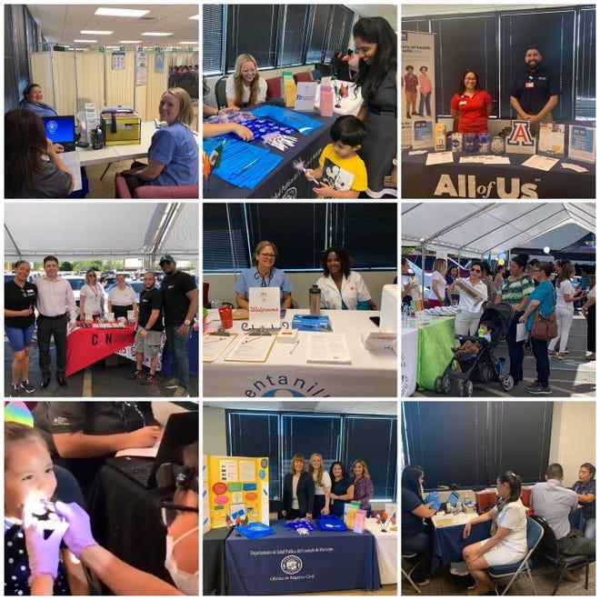 Como parte de las actividades de la Semana Binacional de Salud, el 5 de octubre llevamos a cabo nuestra Feria de Salud 2019 durante la Jornada Sabatina del Consulado General.
