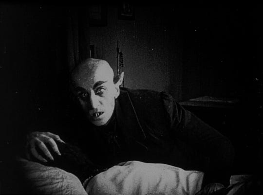 """""""Nosferatu"""" will be screened Friday at the Capitol Theatre."""