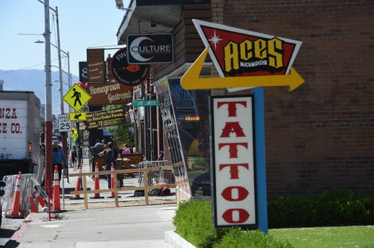 Midtown Reno, Nevada June 21, 2019
