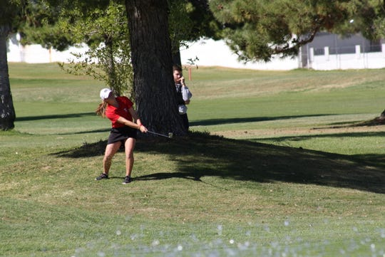 Truckee sophomore Ryan Flynn continued her stellar season, winning the 3A girls state golf tournament.