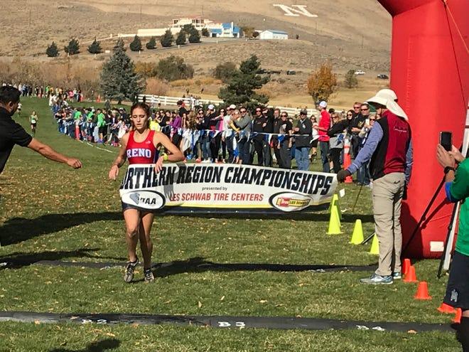 Reno High senior Penelope Smerdon will run for Nevada this fall.
