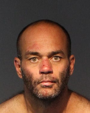 Patrick Sparhawk, 46, faces eight charges including two counts of battery with a deadly weapon, both with a motivated bias or hatred enhancement. He also faces two counts of home invasion with a deadly weapon, among others. Sparhawk allegedly beat two women and burglarized their homes. No bail was set. All arrested are innocent until proven guilty.