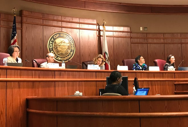 The California Public Utilities Commission holds a special meeting in Redding on Thursday, Oct. 24, 2019, where the public spoke out against PG&E power shutoffs.