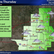 National Weather Service shows showers coming to San Angelo on Thursday, Oct. 24.