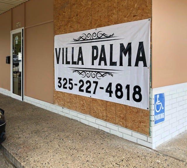 Villa Palma Italian restaurant opening Nov. 1 in north San Angelo.