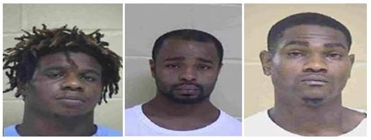 From left to right: Terrance Young, Charles Williams and Steven Smith Jr.