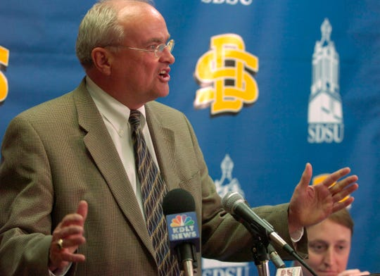 Fred Oien served as South Dakota State's athletic director from 1990-2009.