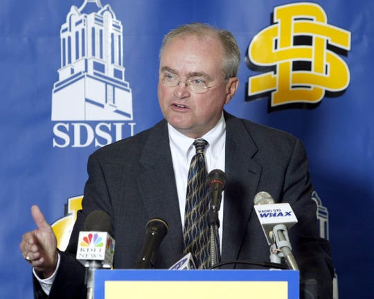 Former SDSU athletic director Fred Oien