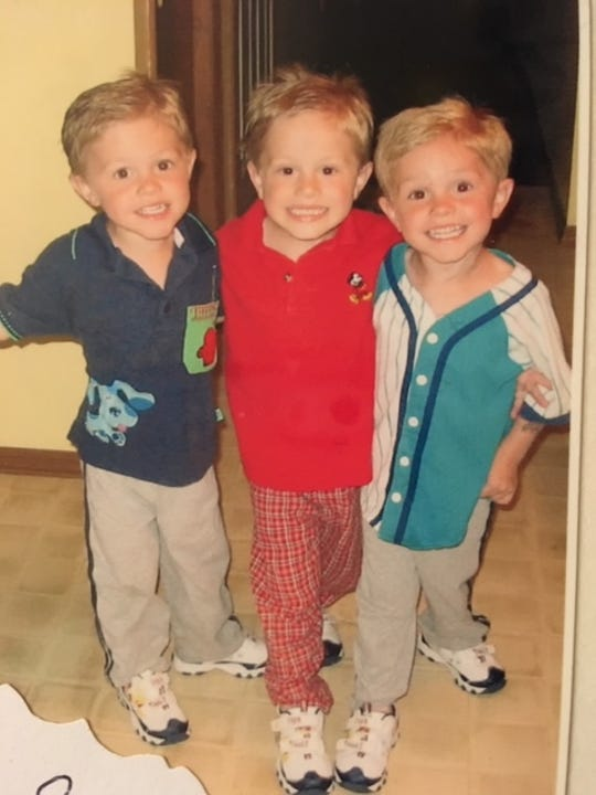 Colin Rentz, Carter Rentz and Connor Rentz seemed destined to play together for the Quarriers from an early age.