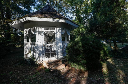 The gazebo at the home once owned by the Zucchini family at 1514 E. Seminole St.