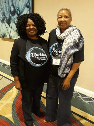 Doris Strong and Debra Horton, NAMI Sharing Hope program leaders, currently offering their presentation primarily to the minority community, and anywhere they are asked to be. NAMI Tallahassee has the only active Sharing Hope team in Florida - we're pretty proud of that!