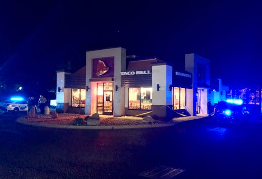 Tallahassee police are investigating an attempted murder that took place at a Taco Bell. A suspect reportedly entered the building, doused a woman with gasoline and lit her on fire.