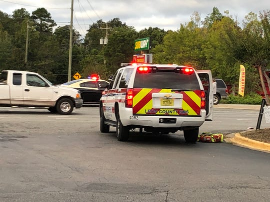 The scene of a fatal wreck on North Monroe on Oct. 24.