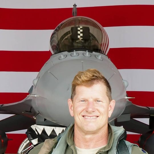 Air Force pilot and FSU graduate Joe Feheley.
