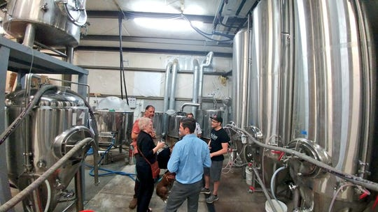The Power Mill, Ology Brewing's new tasting room, had a sneak preview event before its grand opening.