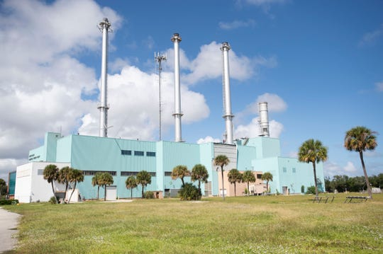The Vero Beach power plant, pictured Friday, Oct. 4, 2019, has been out of service since 2015 and sits on a portion of the 38-acre, city-owned three corners property along the Indian River Lagoon and Alma Lee Loy Bridge. The city has hired Miami-based consultant DPZ to help come up with a plan on how to best renovate the property and potentially utilize the existing structures, like water holding tanks across the street at the water treatment plant and the vast interior of the power plant.
