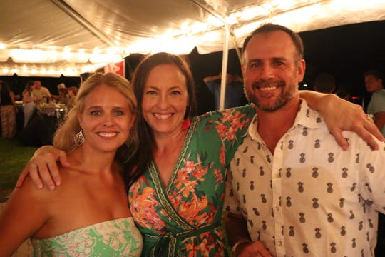 Shannon Scott and Candice and Troy Dean support the 2019 Michael Shields Memorial Inshore Open benefit for Project L.I.F.T.