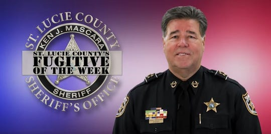 Sheriff Ken Mascara in a fugitive of the week video. The series is put on to help find people with open arrest warrants in the county.