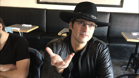 Director Robert Rodriguez talks about his love for filmmaking and keeping to his low-budget roots Thursday, Oct. 24, 2019.