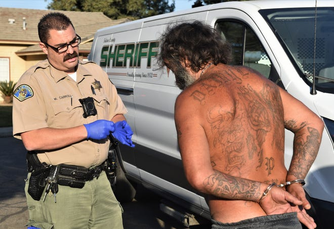 Tulare County Sheriff's Department held its 17th annual Domestic Violence detail on Wednesday, Oct. 23, 2019.