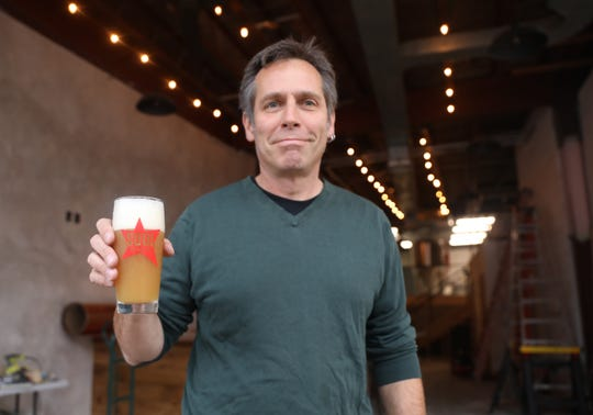 Allen Wallace, owner of Soul Brewing Company in Pleasantville.