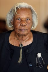 Barbara Williams was inducted as new member in the Rockland County Commission on Human Rights' Civil Rights Hall of Fame during a luncheon at the Nyack Seaport Oct. 24, 2019.
