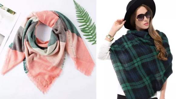 The most versatile travel accessory of all time—a blanket scarf