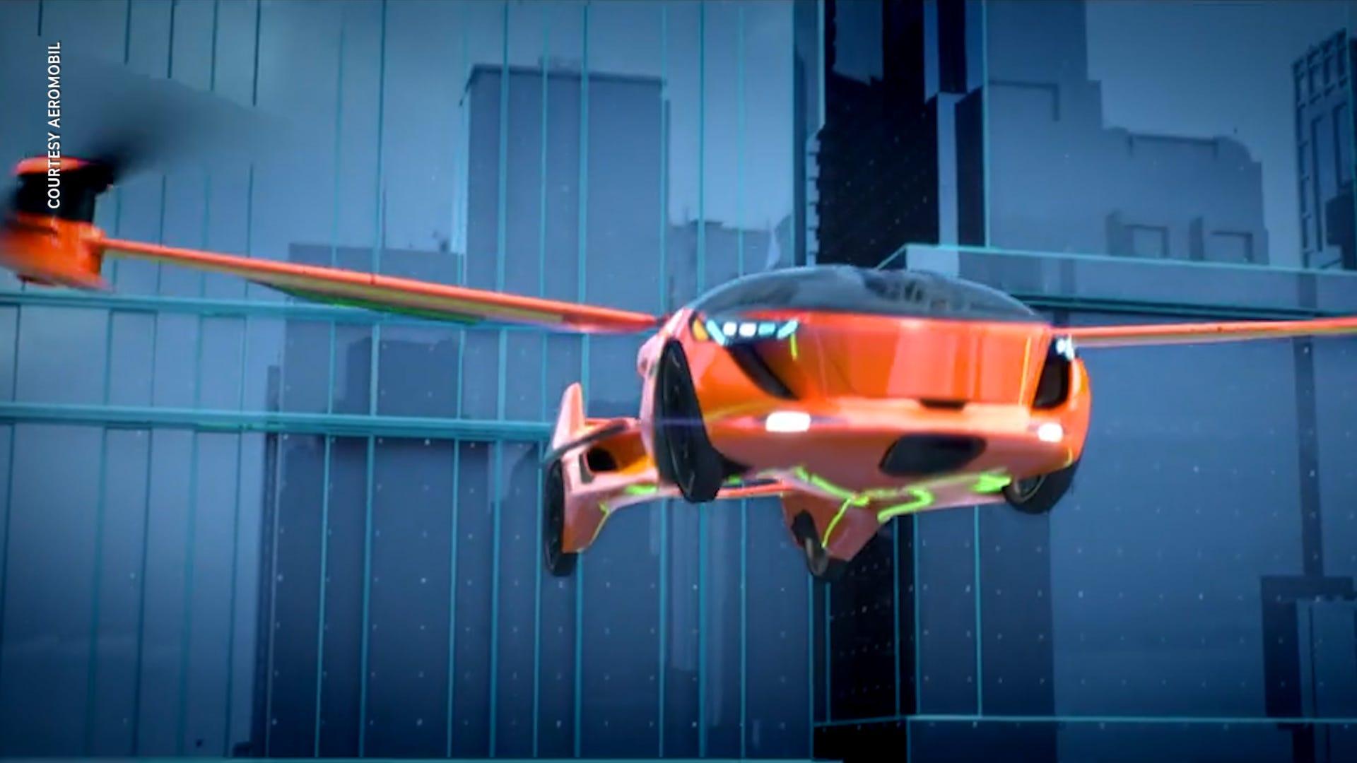 Flying car fantasy may finally be on the horizon