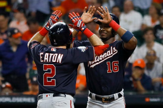 Westlake Legal Group afb3c094-0094-4752-a170-67b05e5ce82a-AP_World_Series_Nationals_Astros_Baseball Nationals crush Astros in Game 2 to take commanding World Series lead