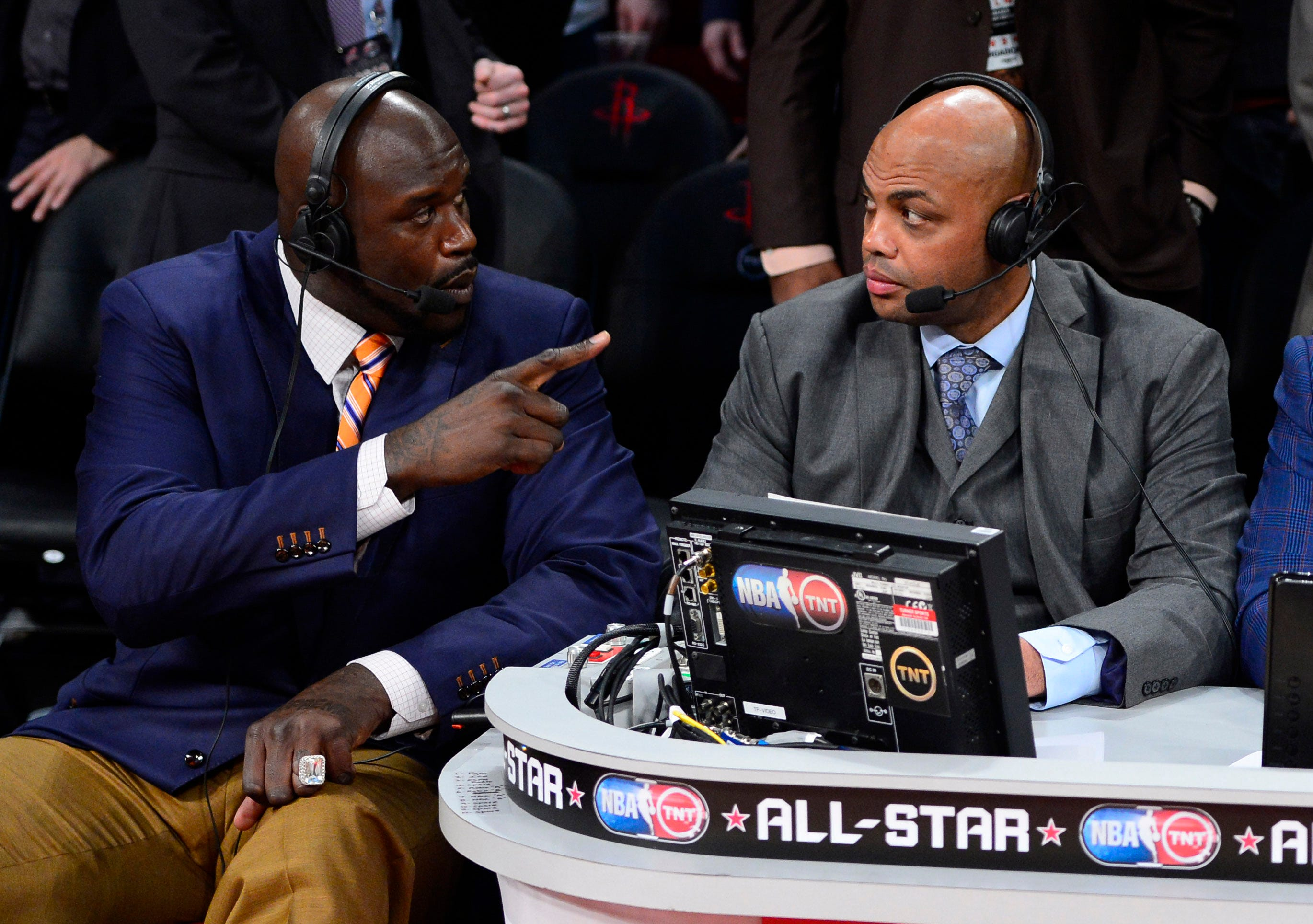 Shaquille ONeal, Charles Barkley, Kenny Smith debate NBAs China controversy