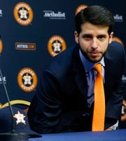 Brandon Taubman, former assistant GM of the Astros.