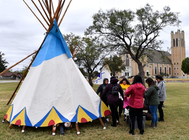 Tipi Village, as seen here in October, is no more at McMurry University after the university's trustees voted to end the celebration over fear it may be viewed as insensitive.