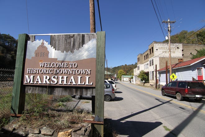 New public art welcoming visitors to downtown Marshall could be part of a state arts program that supporters say will help drive economic growth in the town.