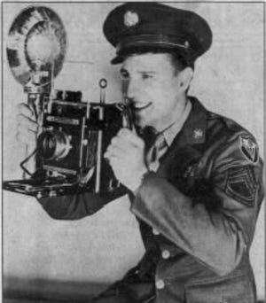 After servicing in the US Army Air Corps, Gamble returned to Asheville and The Citizen-Times.