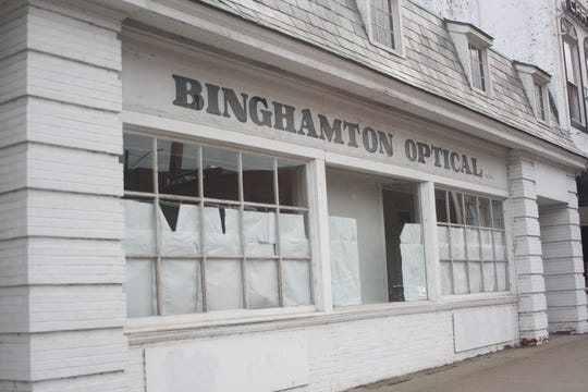 The former Binghamton Optical on 17-19 Main St. in Binghamton will soon be the site of the Red Jug Pub's latest location.