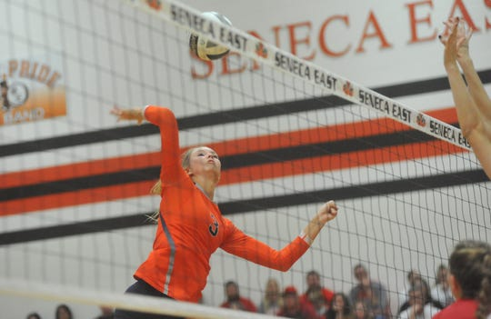 Galion's Taylor Keeran was selected second team All-Ohio in 2019.