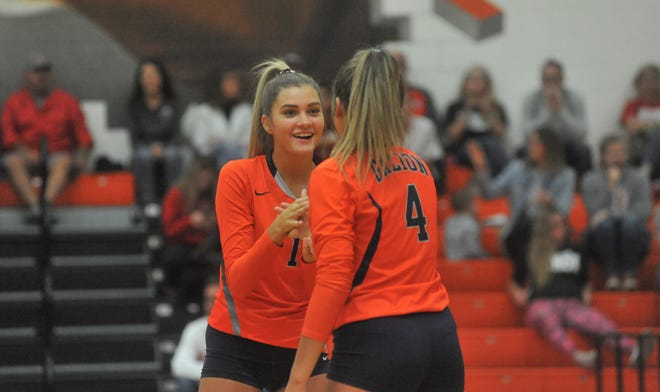 Galion's Samantha Comer and Jaden Ivy both earned All-District 6 honors.