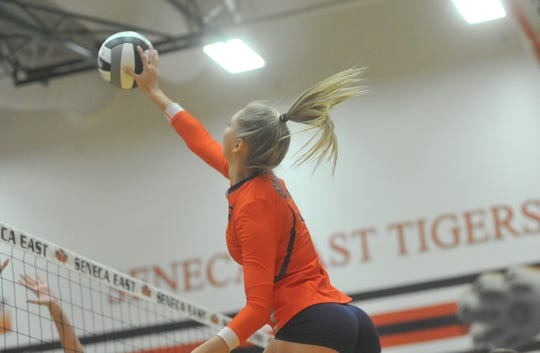 Taylor Keeran was named co-Telegraph-Forum Player of the Year.