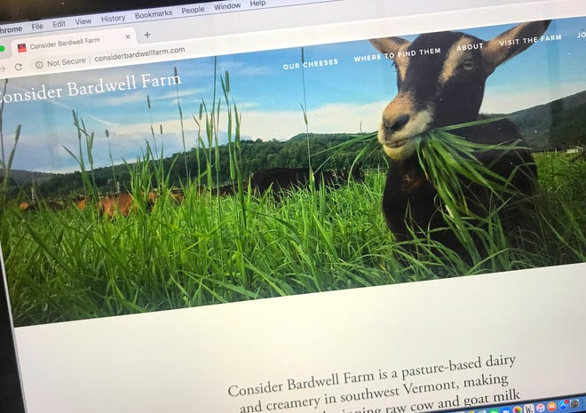Consider Bardwell's website. The Vermont cheese maker announced it will close after a voluntary recall amid listeria concerns.