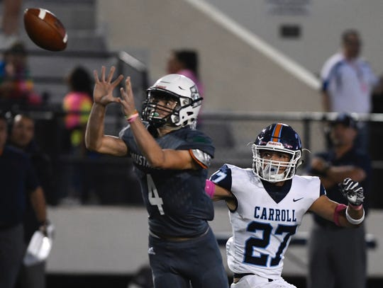 Carroll faced rival King on Thursday, Oct. 24, 2019 at Buc Stadium in Corpus Christi, Texas.
