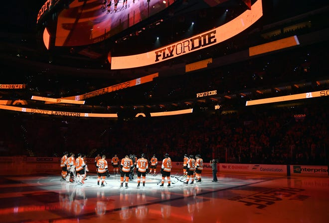 The Flyers are 2-1-0 at Wells Fargo Center this season.