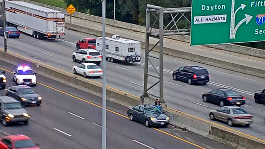 I-71/75 South traffic alert