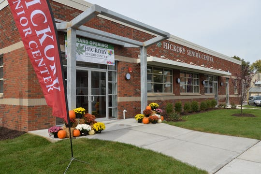 The new Hickory Senior Citizen Center in the Fords section of Woodbridge.