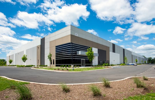 The building is home to Humanscale, located in Rockefeller Group Logistics Center, 100 Ridge Road, Piscataway,