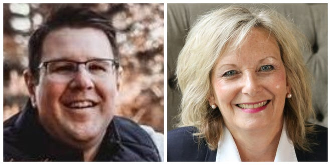 Indianola Ward 3 candidates Steve Armstrong and Gwen Schroder